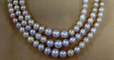Antique Basra Pearl Necklace 170 Carats 343 Pcs For Investment