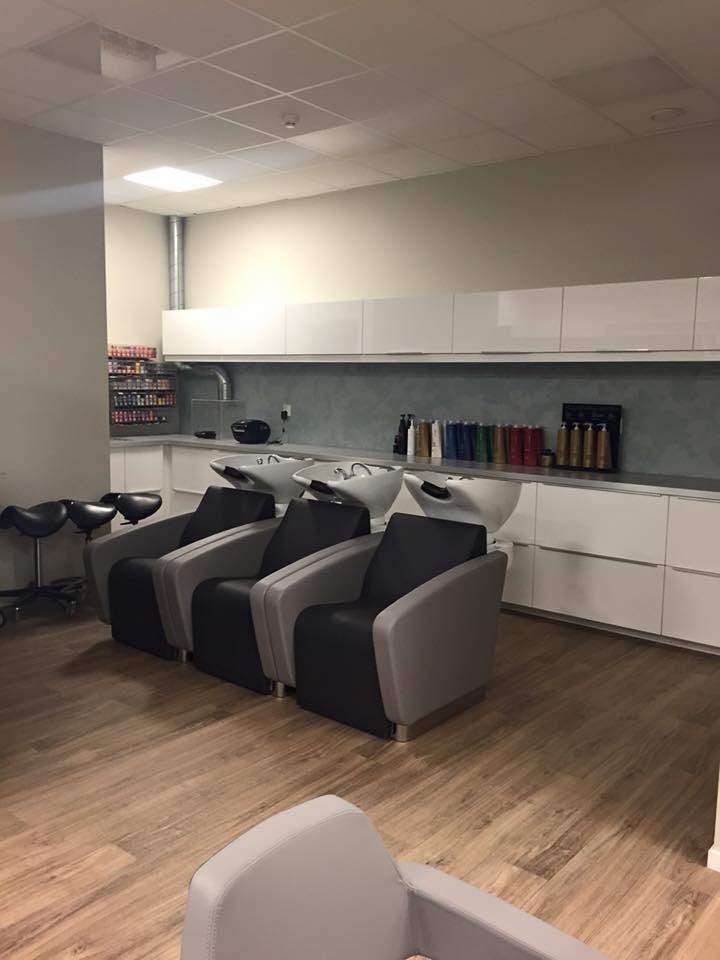 beauty salon waiting area chairs jehs laub lounge chair replica storebØ, norway » real salons - :: karisma design