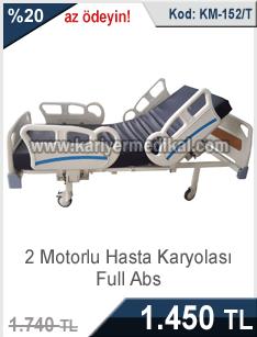 Yeni tasarım 2 motorlu hasta karyolası