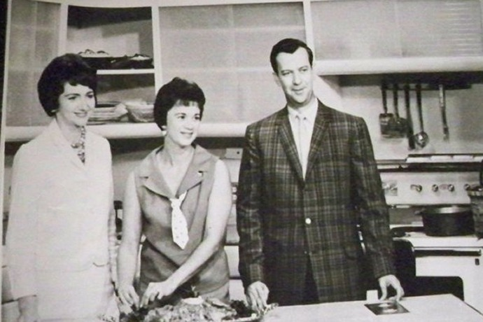 Betty Fowler, guest and Bud Campbell on _Little Rock Today_ 1960's_3449506098524865543