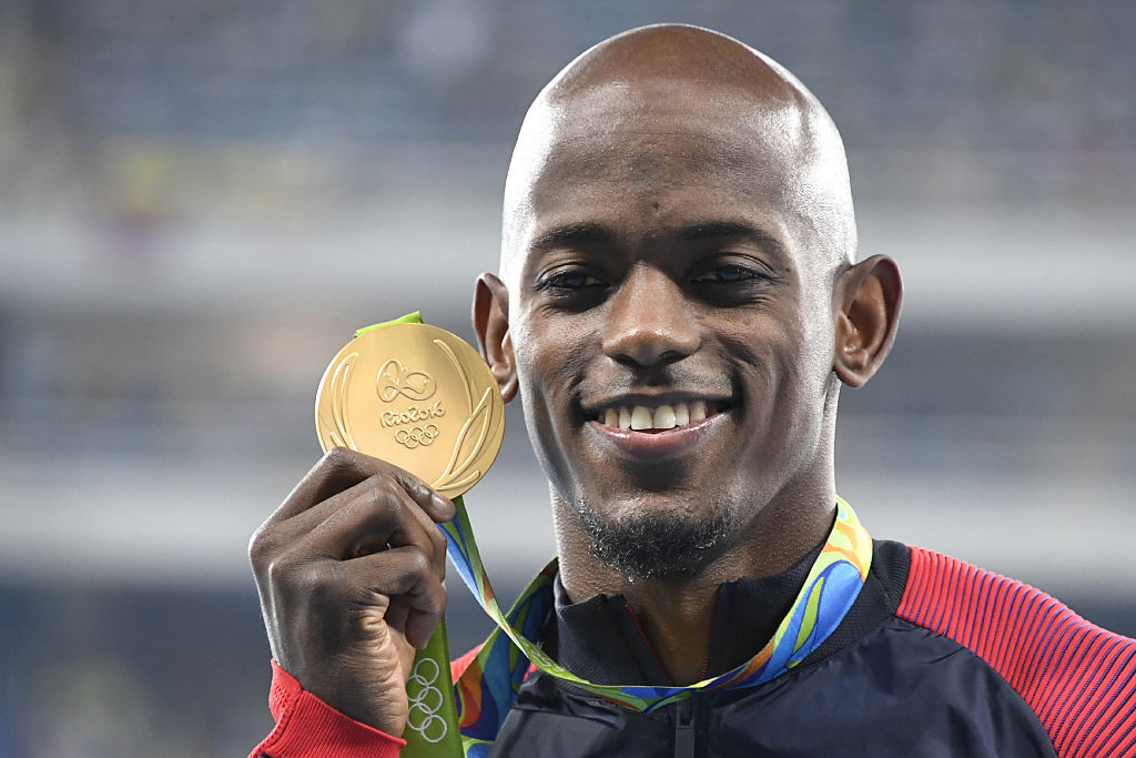 Jeff Henderson with Gold Medal 2