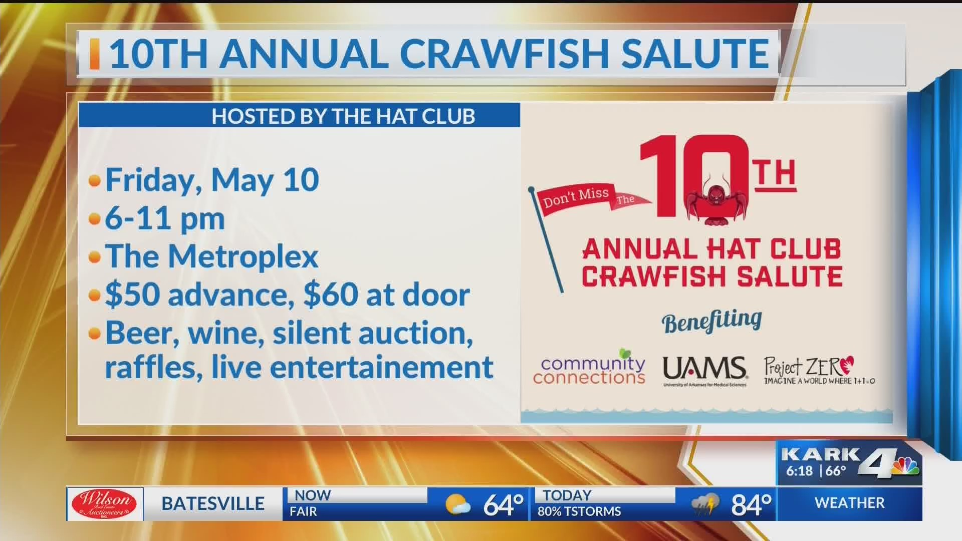 Crawfish Salute