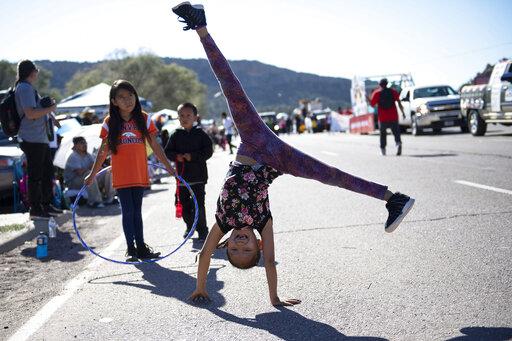 Oh how sweet it isn't: Navajo president bans candy at parade
