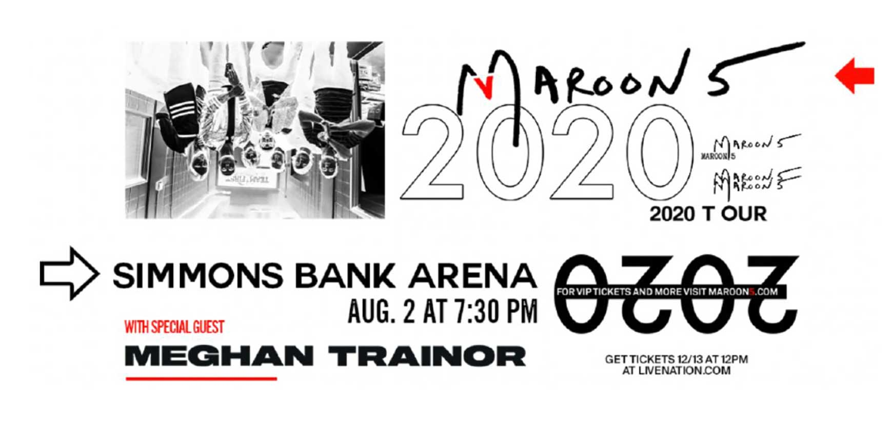 Maroon 5 Tour 2020.Maroon 5 Comes To Arkansas In August 2020 Kark