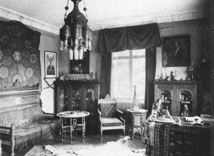 Die Villa Shatterhand in Radebeul