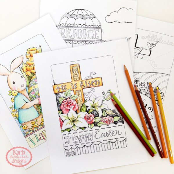Easter Coloring Pgs
