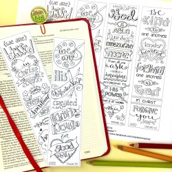 Color-Your-Own Bookmarks