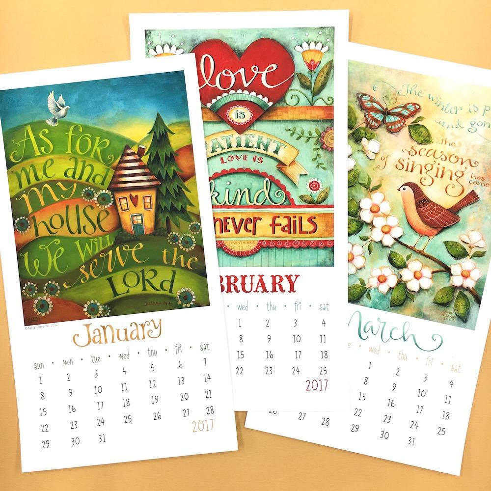 2017 printable christian inspirational calendar celebrate faith 2017 printable christian inspirational calendar kristyandbryce Images