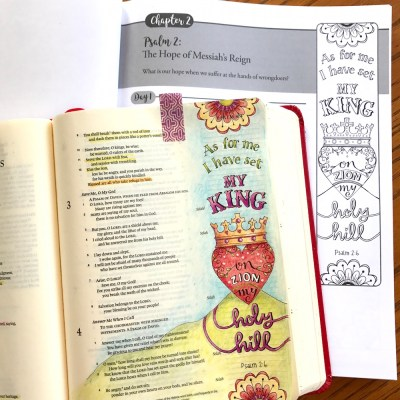 Psalm 2 – A Royal Color Palette for the King of Kings…