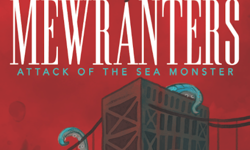 Exciting Cover Reveal! MEWRANTERS: ATTACK OF THE SEA MONSTER by Nigerian author Kachi Ugo