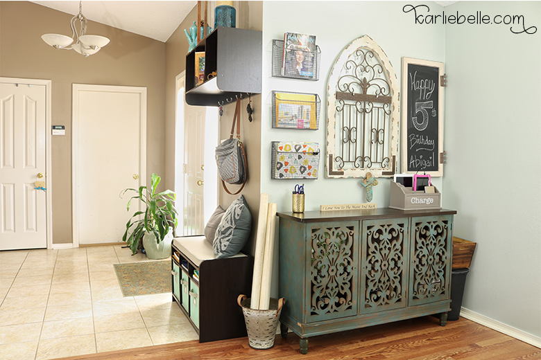 Decorative Command Center- Entry way