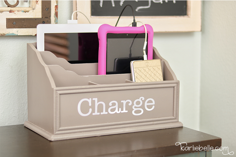 Decorative Command Center- Charging Station