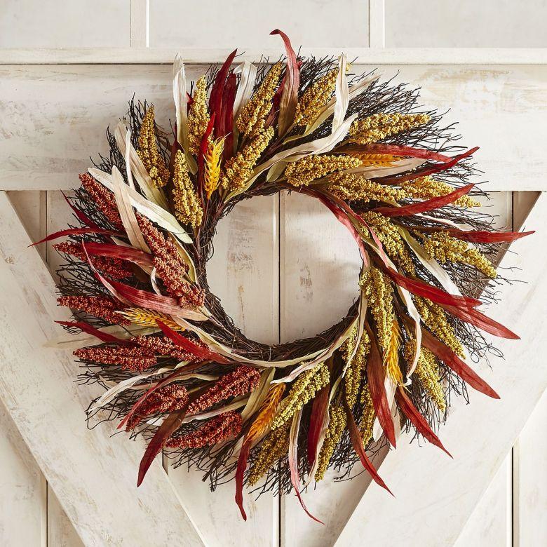 Neutral Fall Decor Wreath from Pier 1