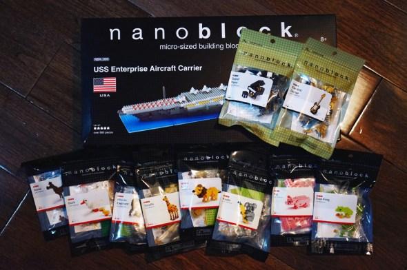 more nanoblocks collection