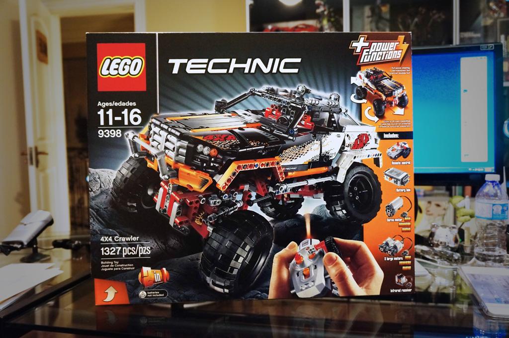 Lego Technic 9398 4x4 Crawler Karlngblog