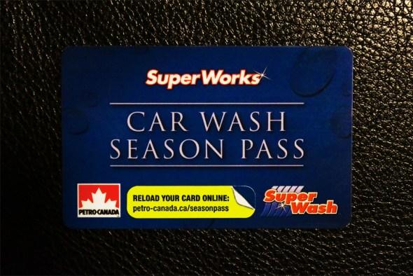 Petro Canada - SuperWorks Car Wash Season Pass