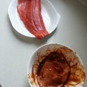 Salmon & Pork Neck