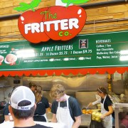 The Fritter co. with long lineups