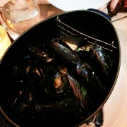 Belgian White Mussels