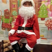 Santa when he was 6
