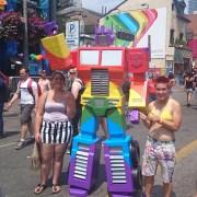 rainbow optimus prime!!