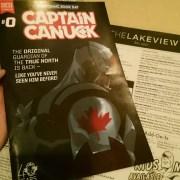 Captain Canuck comic book