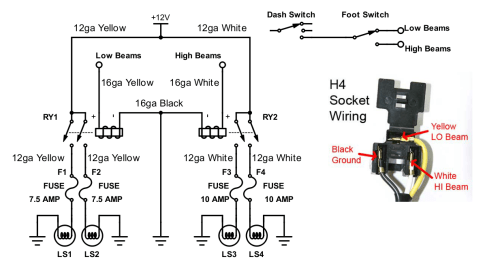 small resolution of from this i setup the following two dill blox modules 4 position ato atc fuse module p n 59112 and 2 position iso mini relay module p n 59188
