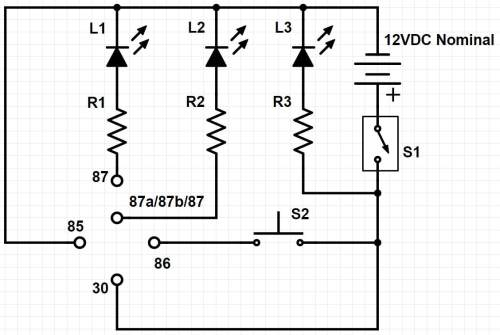 small resolution of relay tester karl nielsen relay tester schematic