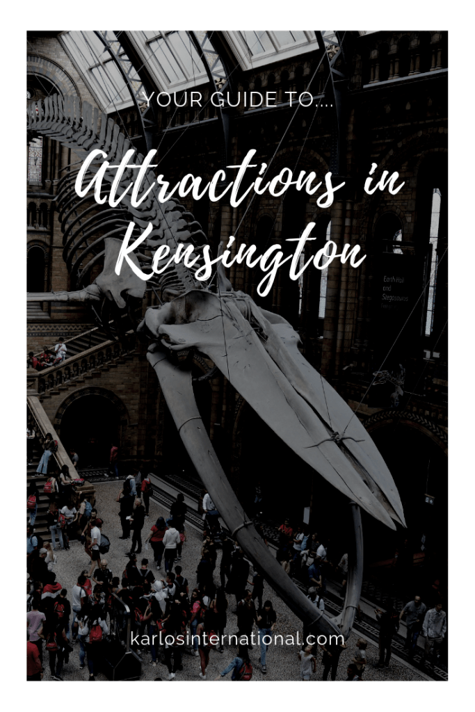 Your Guide to Attractions in Kensington Pinterest