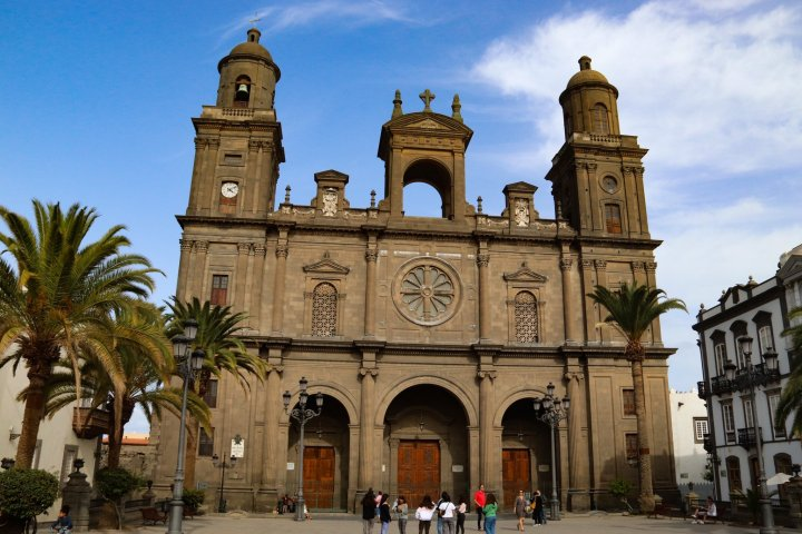 The Cathedral Santa Ana or Las Palmas Cathedral is a must see in Las Palmas de Gran Canaria