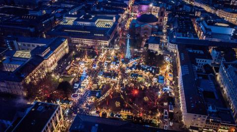 Weihnachtsmrkte  Karlsruhe Erleben
