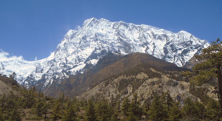 Pisang peak climbing in Nepal Himalaya