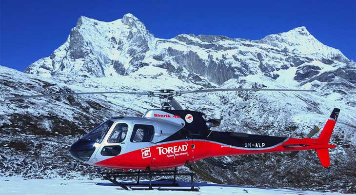 Everest Base Camp Heli Trek is the ultimate destination to explore gigantic Everest