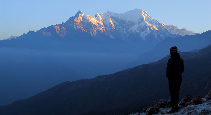 The Mountains Are Calling And I Must Go In Nepal