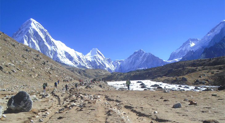 Mount Everest is an ideally located in solukhumbu district of Nepal