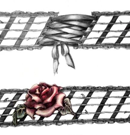 Karmaela Design: Rosevine tattoo design