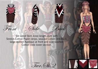 Te Whare Runanga - Skirt 2