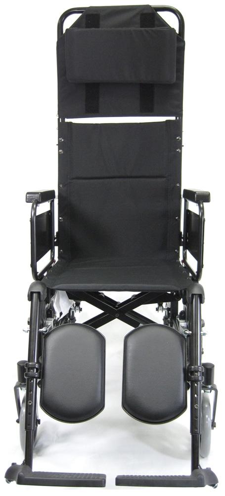 KM5000TPFRTXL lightweight reclining wheelchair