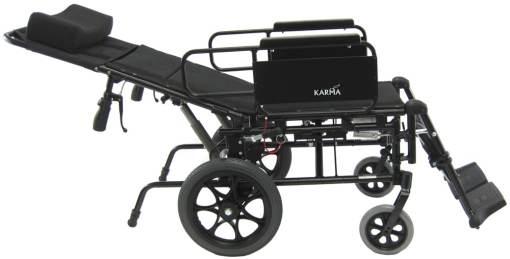 KM5000TPLAYXL lightweight reclining wheelchair