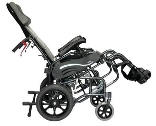 VIP515 Side View L -VIP-515 Tilt-in-space wheelchair