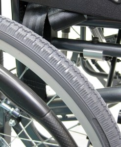 VIP515 Tilt-in-space wheelchair close up wheels