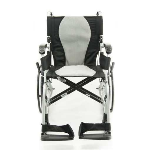 ergo flight wheelchair frontal view