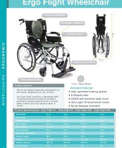 ergo flight wheelchair full catalog ergoflight
