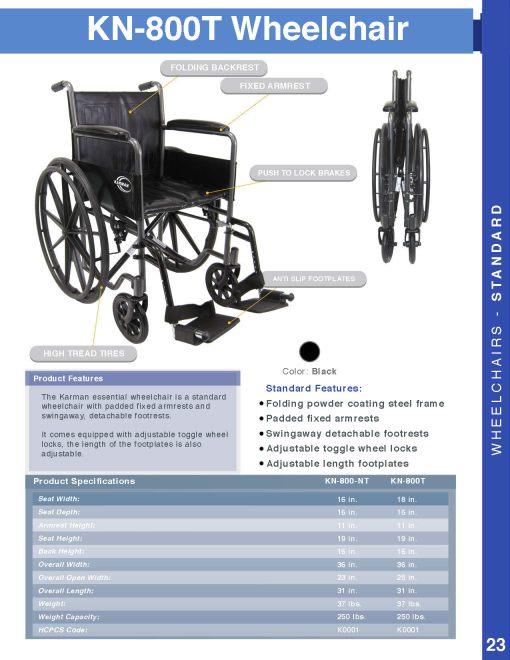 fullcatalog2013 kn800t - kn800t wheelchair