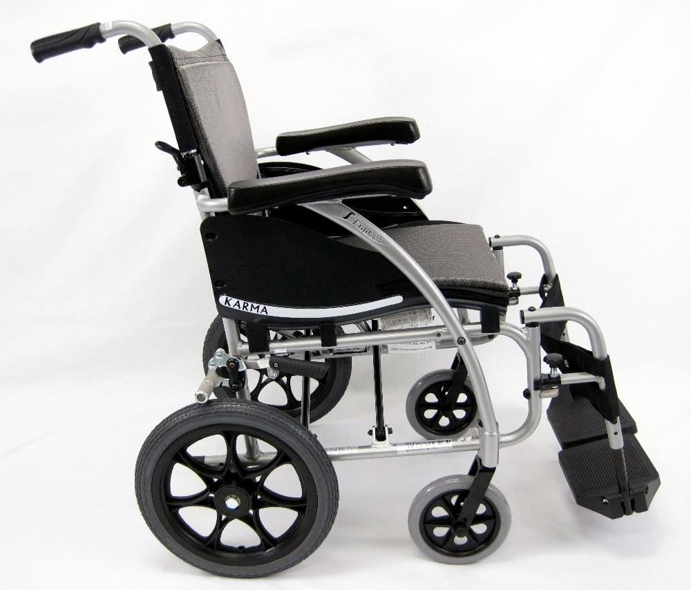 S115TP Lightweight Transport Wheelchair  Light Companion Wheelchair