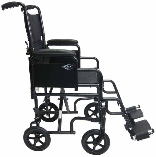 t 2700sidexl transport wheelchair with detachable arms