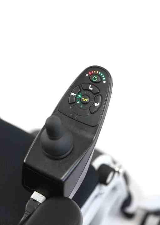 xo-202-joystick-view XO-202 power standing wheelchair