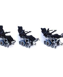 xo 505 recline action XO-505 Standing Wheelchair