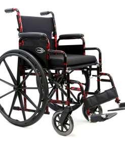 LT 770QMain - red streak wheelchair