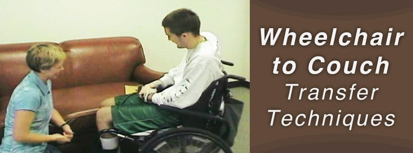 wheelchair to couch transfer